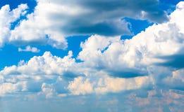 grande panorama do céu para os projetos 3D grandes Imagens de Stock