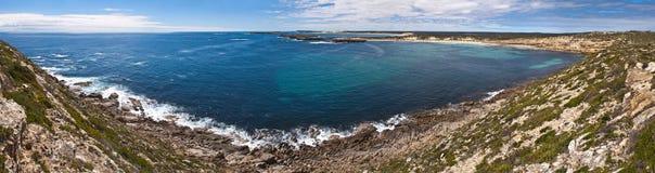 Grande panorama litoral australiano da paisagem Fotos de Stock Royalty Free