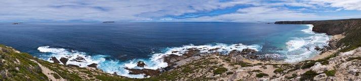 Grande panorama litoral da paisagem Imagem de Stock