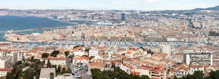 Grande panoramico di Marsiglia Fotografia Stock