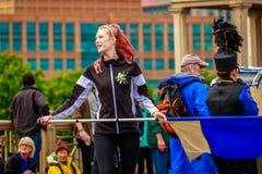 Grande parata floreale 2017 di Portland Fotografie Stock Libere da Diritti