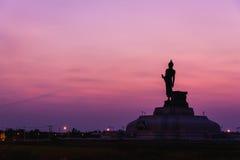 Grande parco del monumento di Buddha fotografie stock