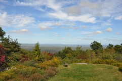 Grande parco di stato di Pocono in Pensilvania fotografia stock