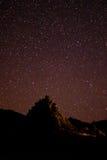 Grande parco nazionale della curvatura del cielo notturno Fotografia Stock Libera da Diritti