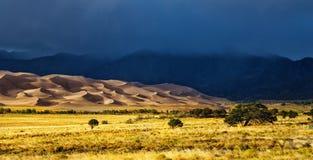 Grande parco nazionale delle dune di sabbia Immagine Stock Libera da Diritti