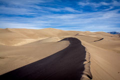 Grande parco nazionale delle dune di sabbia fotografia stock