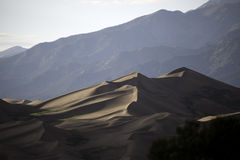 Grande parco nazionale delle dune di sabbia fotografie stock