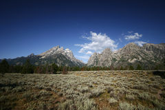 Grande parco nazionale di Tetons, Wyoming immagini stock libere da diritti