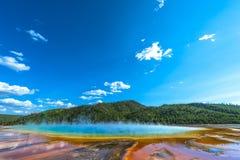 Grande parco nazionale prismatico di Yellowstone Fotografia Stock