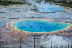 Grande parco nazionale prismatico di Yellowstone Fotografia Stock Libera da Diritti