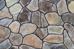 Grande parete di pietre Immagini Stock