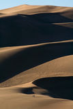 Grande parque nacional de dunas de areia Fotografia de Stock Royalty Free