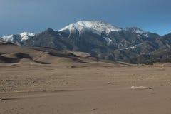 Grande parque nacional de dunas de areia Imagem de Stock Royalty Free