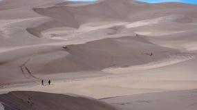 Grande parque nacional de dunas de areia Fotos de Stock Royalty Free