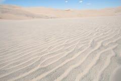 Grande parque nacional de dunas de areia em Colorado Fotos de Stock Royalty Free