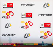 Grande parta do Tour de France 2015 em Utrecht Fotos de Stock