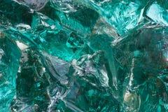 Grande partie de glace verte Photographie stock libre de droits