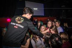 Grande partito per i giovani nella città di Kirov nel 2016 Fotografie Stock