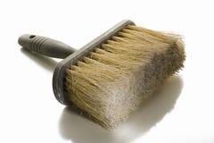 Grande pennello o spazzola wallpapering Fotografia Stock Libera da Diritti