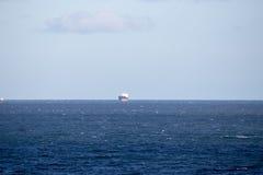 Grande petroleiro de petróleo Fotografia de Stock