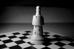 Grande pièce d'échecs à bord Photos stock