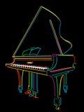 Grande piano Fotografia Stock
