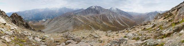 Grande picco di Almaty Fotografie Stock Libere da Diritti