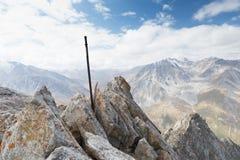 Grande picco di Almaty Immagini Stock Libere da Diritti