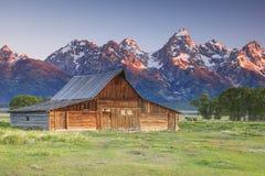 Grande picco di Tetons Fotografia Stock