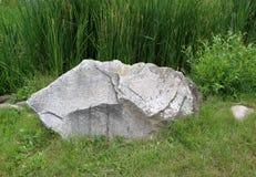 Grande pietra della roccia Fotografie Stock Libere da Diritti