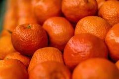 Grande pila di frutta del mandarino immagini stock