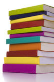 Grande pila di libri Immagini Stock