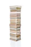 Grande pila di libri Immagine Stock