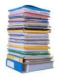 Grande pile de papier Images libres de droits