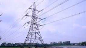 Grande pilone di elettricità fotografie stock libere da diritti