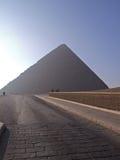 A grande pirâmide Fotografia de Stock