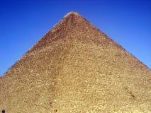 A grande pirâmide Foto de Stock