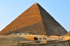 Grande pirâmide de Giza Foto de Stock Royalty Free
