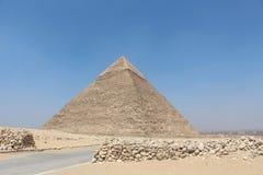 A grande pirâmide de Giza Fotografia de Stock Royalty Free