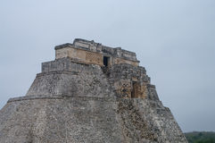 Grande pirâmide de Uxmal Iucatão Fotos de Stock Royalty Free