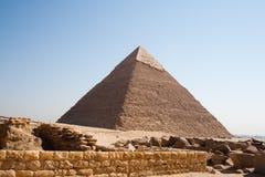 Grande piramide Fotografie Stock