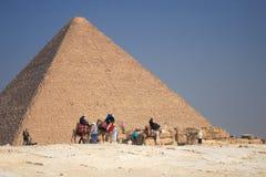 Grande piramide fotografia stock