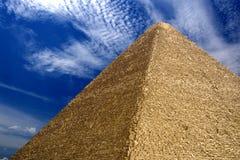 Grande piramide egiziana Immagine Stock