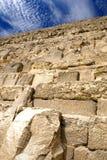 Grande piramide egiziana Fotografia Stock