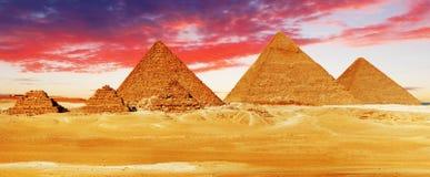 Grande pirâmide Foto de Stock