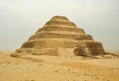 A grande pirâmide de Khufu (Cheops) - Giza, Egipto Fotos de Stock Royalty Free