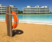 Grande piscina Fotografia Stock Libera da Diritti