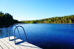 Grande piscina in natura Immagini Stock Libere da Diritti