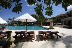 Grande piscine Image libre de droits