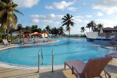 Grande piscine de détente Photo libre de droits